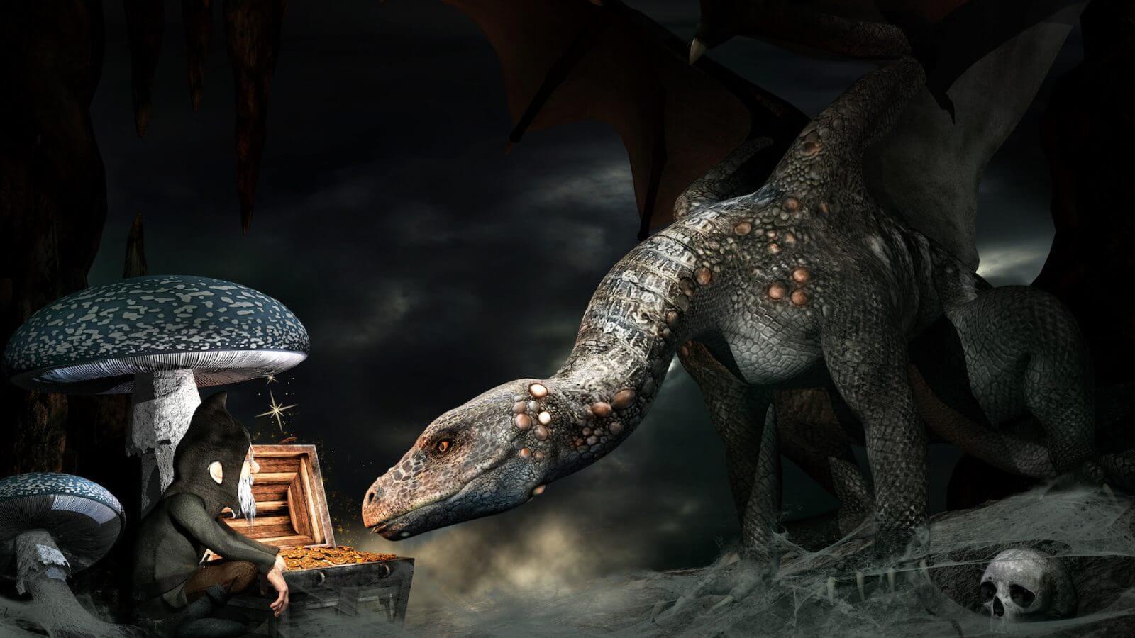 tarot dragon coleccionista