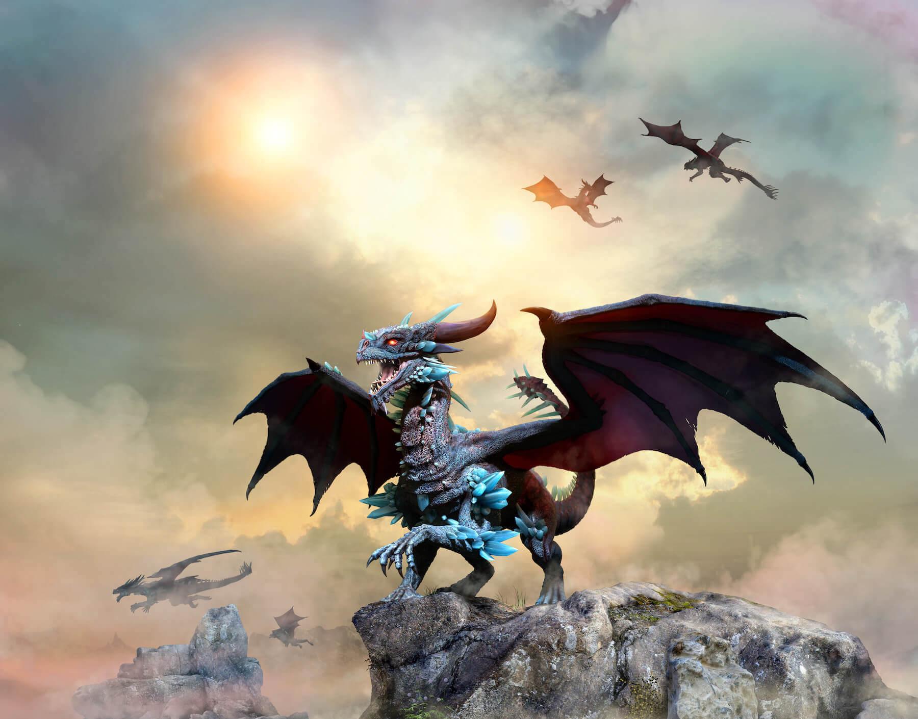 lectura de tarot dragon