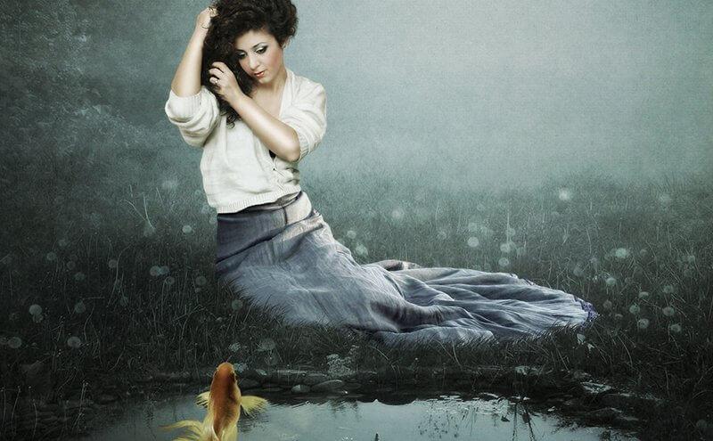 el lado oscuro de piscis explorado por una mujer