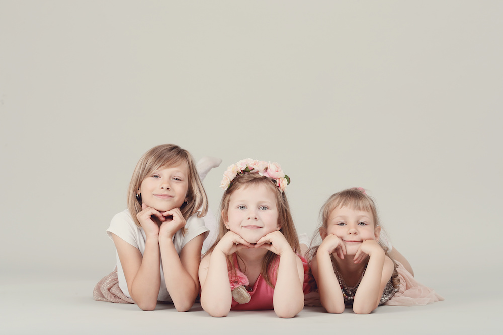 hermanas y familia