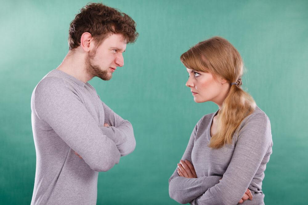 la ira en pareja