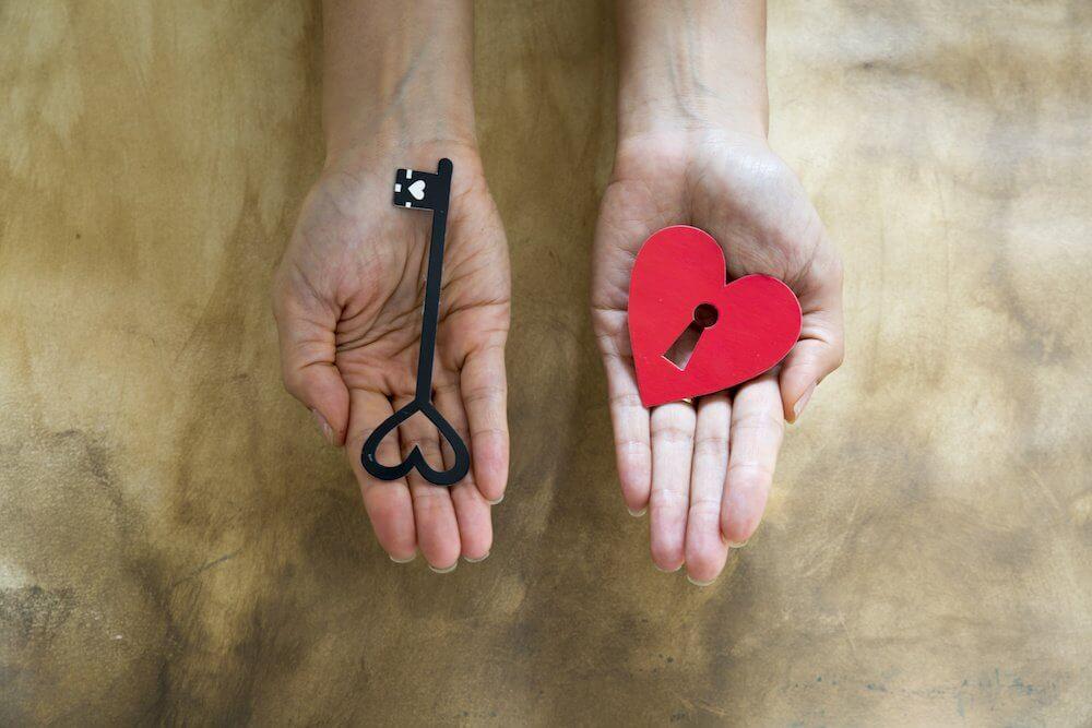 la llave y el corazón