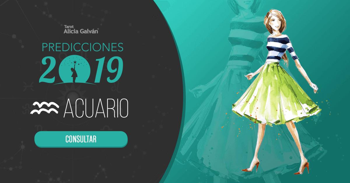 Las Predicciones De Acuario En 2019 Alicia Galván