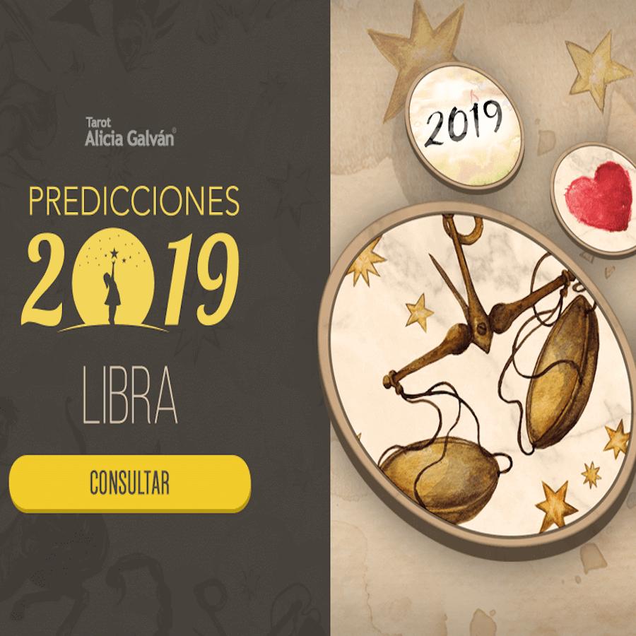 Descubre la Predicción 2019 de Libra Gratis - Alicia Galván