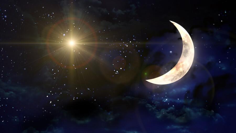 luna nueva de la semana