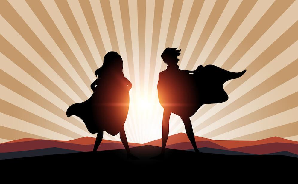 ser o no ser héroe o villano