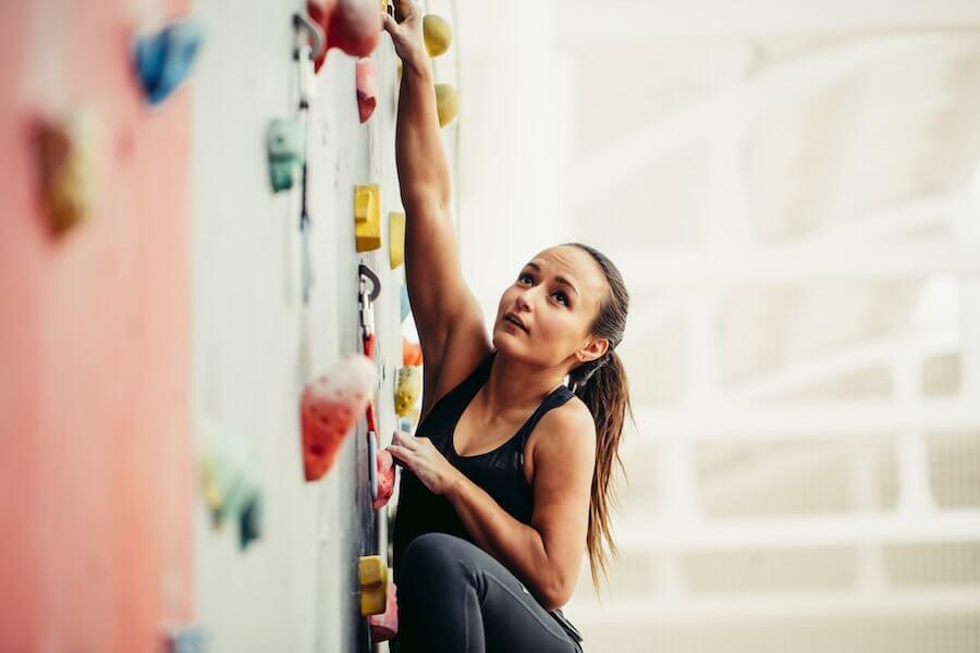 deporte escalada
