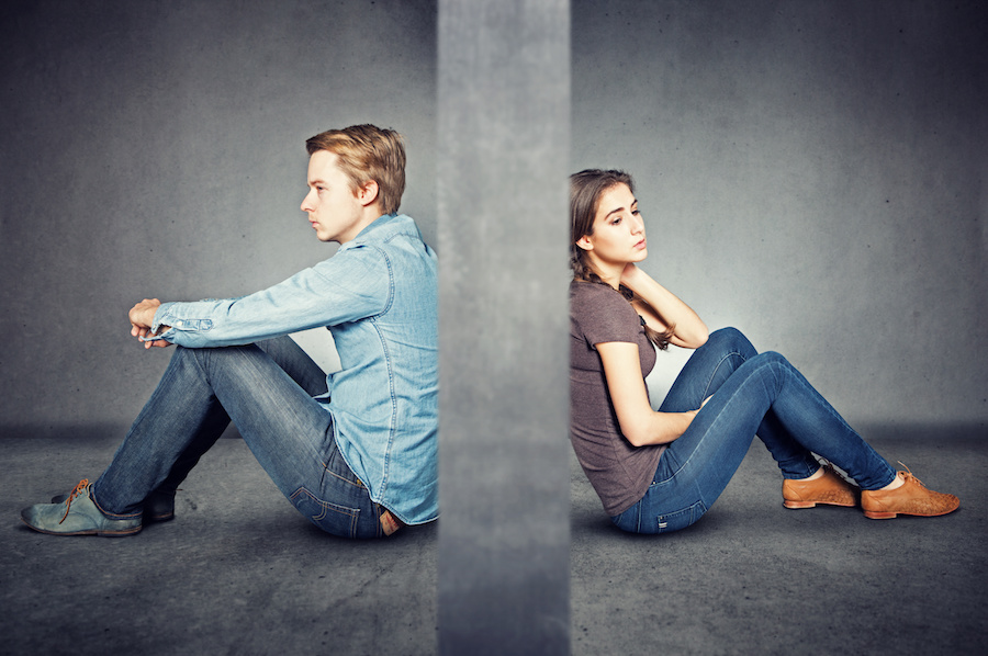 la crisis de pareja