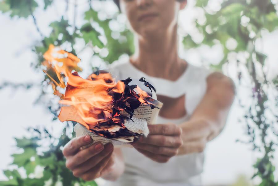 salvaría de un incendio