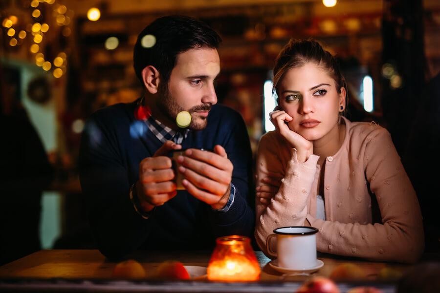 tener una crisis de pareja