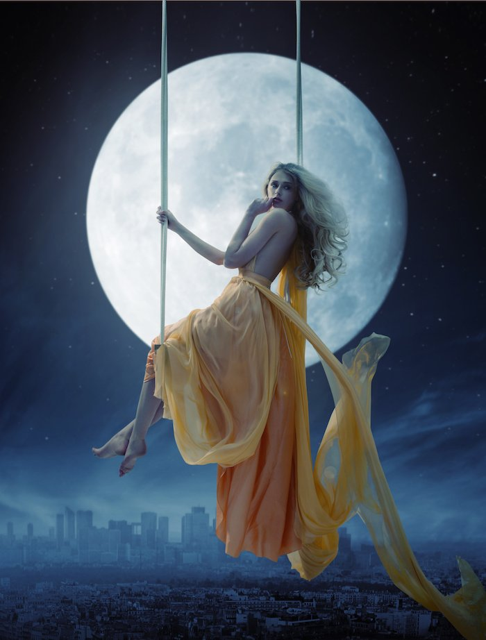 magia de la luna