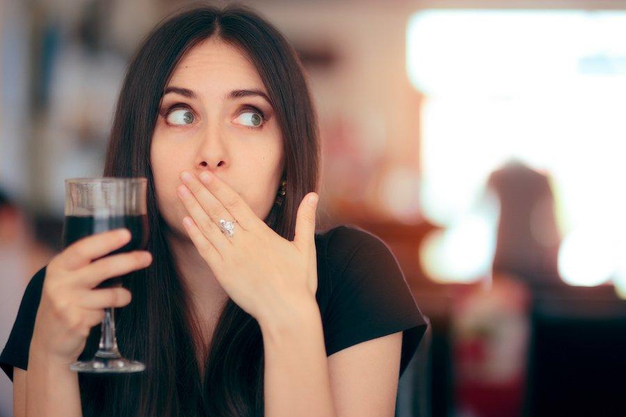 resaca de vino