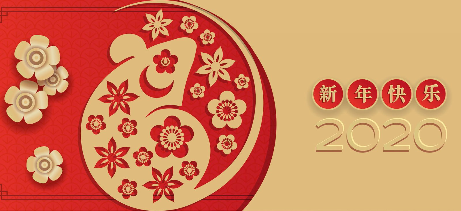 año nuevo chino rata de metal